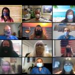 IEAHU Board 2020-2021 Masks