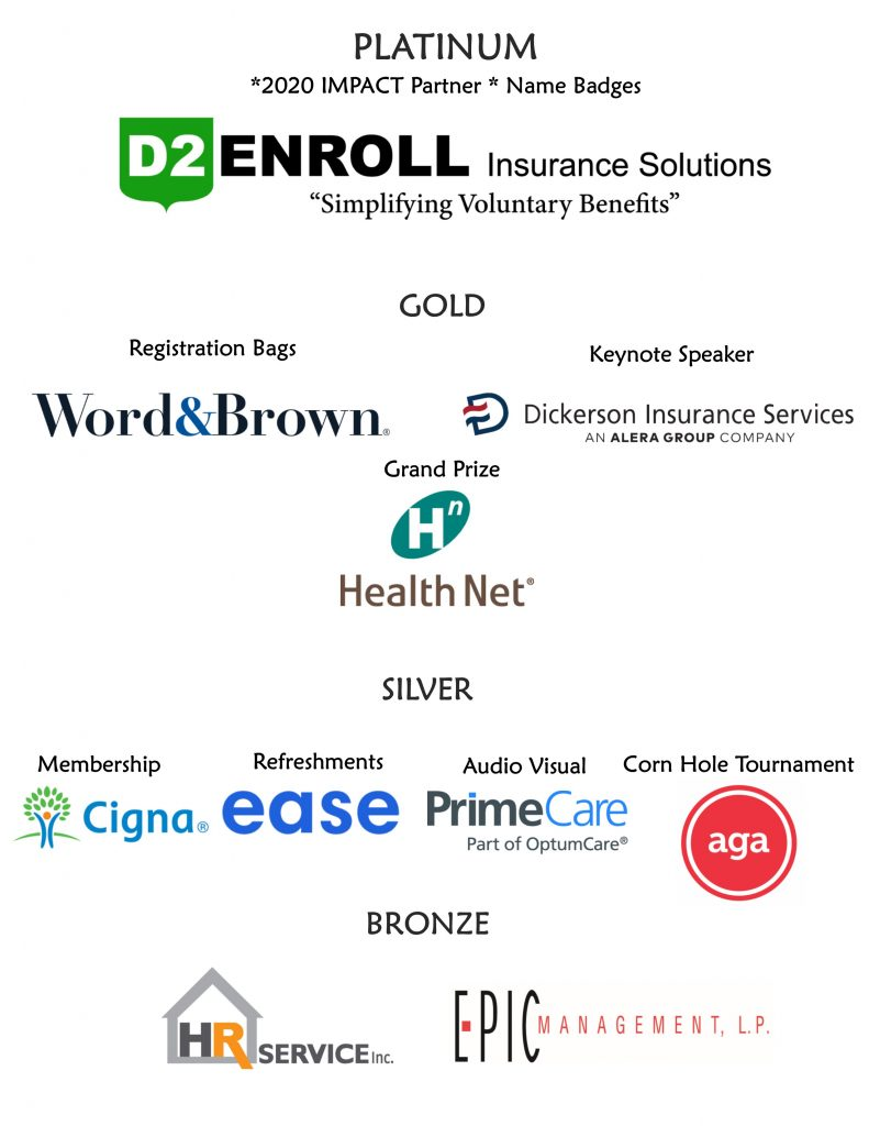 2020 Thank you to Sponsors page with logos (Version 2) FINAL as of 2.25.20
