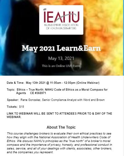 May 13th L&E for Website Posting